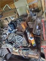 Wood Lathe, Misc. Tools