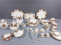 Royal Albert Old Country Roses 80+ Pieces