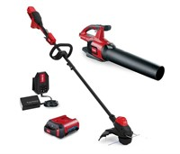 Cordless String Trimmer & Leaf Blower Combo