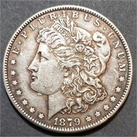 1879-S Morgan Dollar - Higher Grade Example