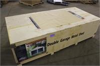 TMG Industrial 21ft x 19ft Double Garage Metal
