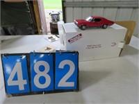 1968 CHEVEROLET CHEVELLE SS396 DIE CAST