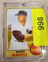 1968 MICKEY MANTLE BASEBALL CARD