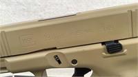 Glock 19 Gen 5 9x19 FDE Cerakote