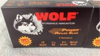 (2 times the bid) Wolf 12 GA 1 1/8 OZ Rifled Slug