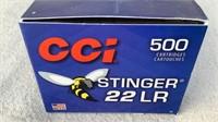 (500) CCI Federal Stinger Varmint 22LR Ammo