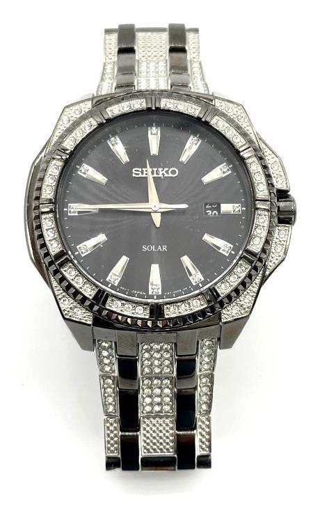 Seiko Solar Men's Wrist Watch