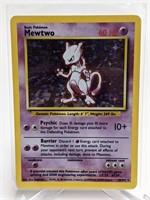 1999 Pokemon Mewtwo Base Holo Rare 10/102