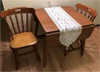 Drop Leaf Table & Chairs