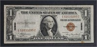 1935-A  $1 Silver Certificate  Hawaii   VF