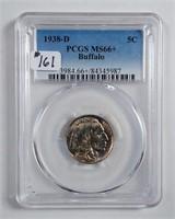 1938-D  Buffalo Nickel   PCGS MS-66+