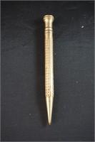 Vintage Gold Pencil