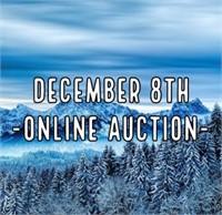 December 8th, 2021 Online Auction