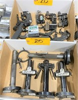 LOT JOHNSON THREAD GAGES & PARTS  (*See Photos)