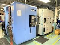 """(New 2017) DOOSAN #NHP-4000 """"4-AXIS"""" CNC"""