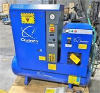 (New 2013) QUINCY #QGS-7.5 AIR COMPRESSOR w/