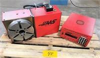 "HAAS #HRT-210 CNC ""4th-AXIS"" ROTARY TABLE w/ HAAS"