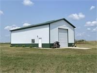 Land & Shop Building Auction - Potential Home Building Site