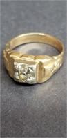14K Gold Ring 7.5g