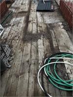 16'x6'  Wood Deck Trailer - No Title