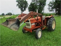 A.C. 5040 Tractor with Front End Loader, Runs Well