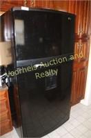 Kenmore Elite black refrigerator