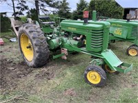 John Deere G 405-35, modified pulling tractor