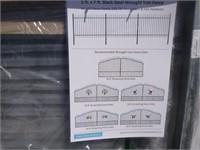 Unused 5'x7' Wrought Iron Fence