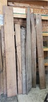 Wormy Chestnut Boards Approx 14 Pcs,