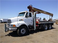2001 Sterling LT9500 T/A Crane Truck