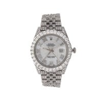 ROLEX AND FINE JEWELRY BREITLING DIAMOND RINGS