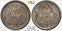 1872-S Seated Liberty Half Dime - PCGS MS63 - WOW!