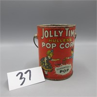 ADVERTISING POPCORN TINS ON LINE ONLY