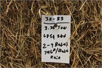 Hay, Bedding, Firewood #29 (07/21/2021)