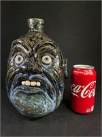 Lolly Lynn Pottery Face Jug