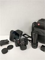 Vintage Leica Film Camera, Lens & Attachments