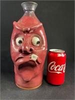 VanHine Pottery Face Jug