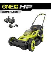 RYOBI ONE+ HP 18V  16in Battery Push Lawn Mower
