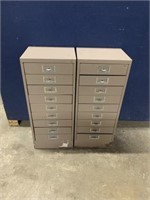 METAL CABINETS (30 INCHES TALL)