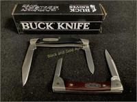 (2) Buck Pocketknife Lot