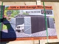 Metal Shed Garage 1020A