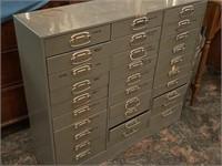 Steel file/tool storage cabinet
