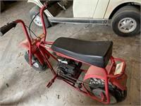 Vintage pit bike Duddle Bug Runs drives