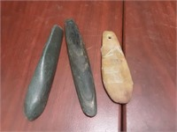 Arrowheads, Jade Artifacts, Silver Jewelry & more
