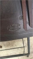 Saddle by F.A> Meaner- Cheyenne, Wyoming STAMPED