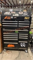Husky Tool Box with Miscellaneous Tools