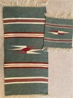 Native American/Southwest Art  & Native American Mini Rugs