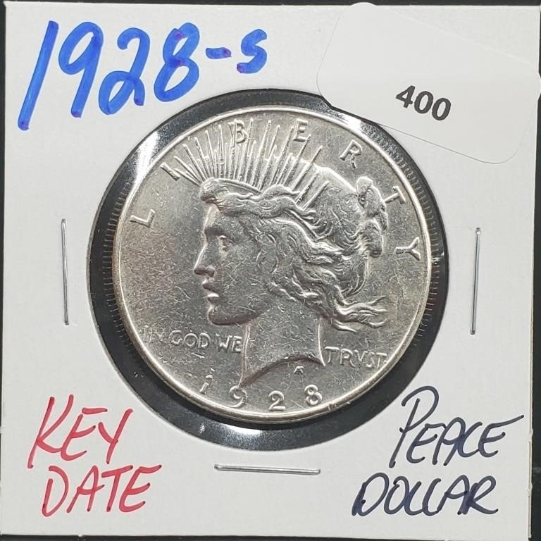 Rare Coins, Gems & Fine Jewelry Tues. 7/27