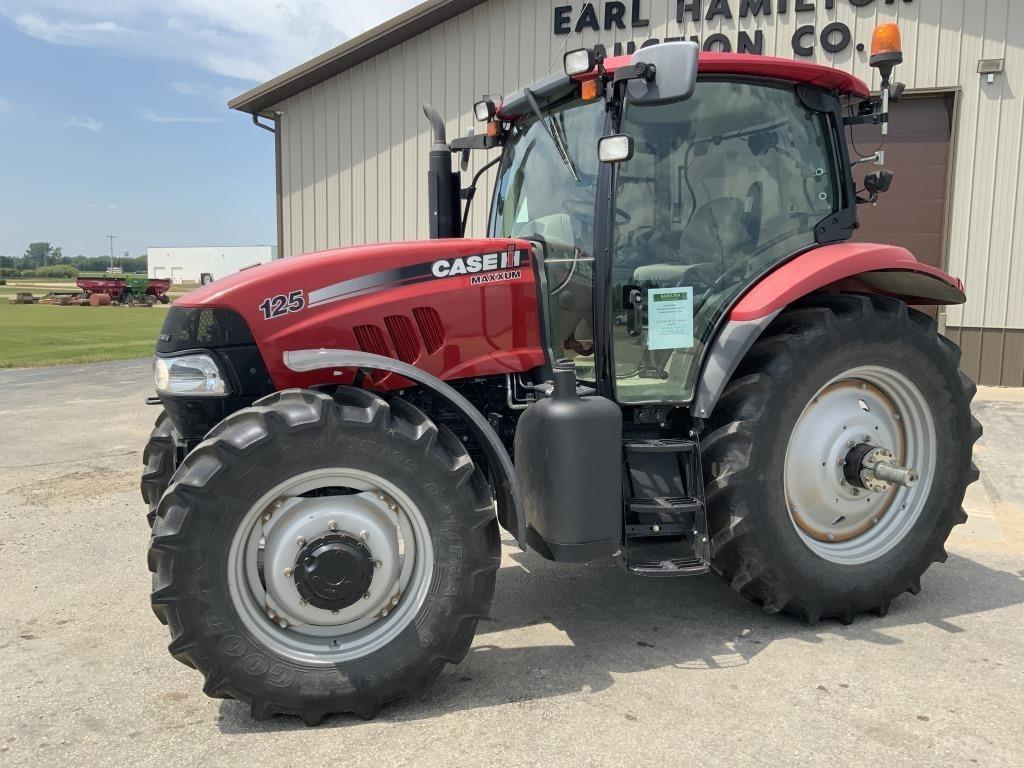 2012 Case IH 125 Maxxum Limited Tractor