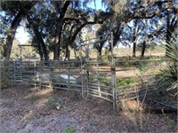 PALM TREE & HORSE FARM, HOME, BARNS, HEAVY EQUIPMENT